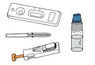 skład zestawu test labhome