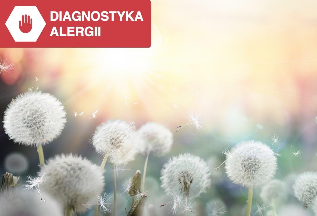 wstępne rozpoznanie alergii testem domowym