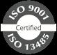 ISO certyfikat ISO 9001 ISO 13485