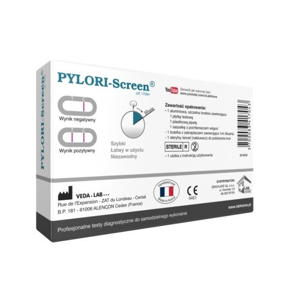 test helicobacter pylori labhome