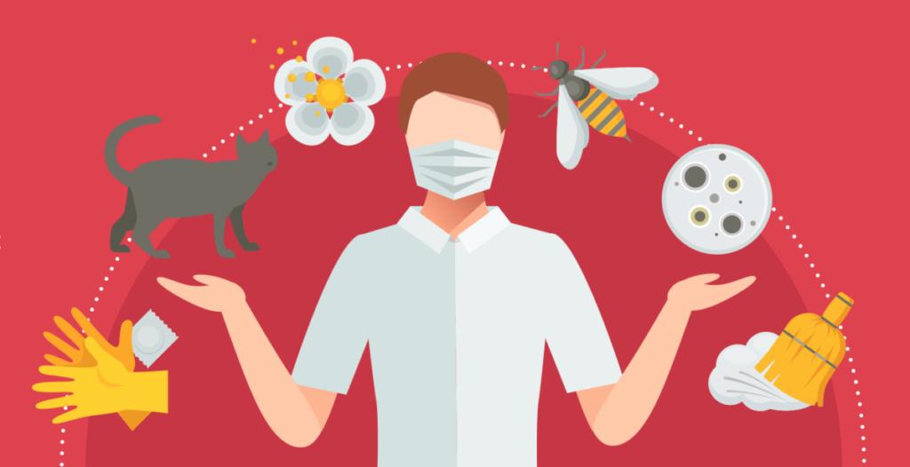 testy alergiczne - alergeny