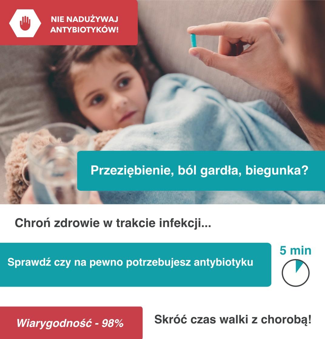 sprawdź czy na pewno potrzebujesz antybiotyku