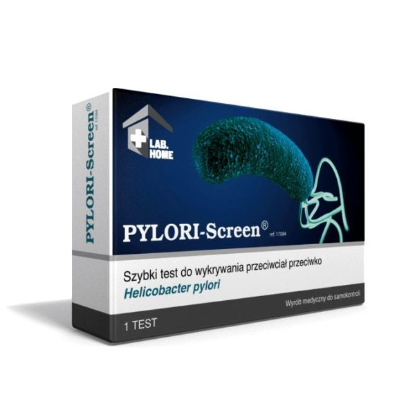test helicobacter pylori