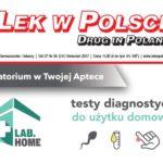 testy labhome na okładce magazynu LEK W POLSCE