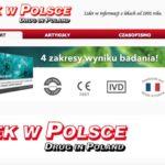 """Test CRP LabHome w magazynie """"Lek w Polsce"""""""