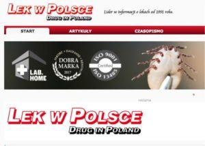 Piszemy o wczesnej boreliozie (objawy, badania) - magazyn LEK W POLSCE