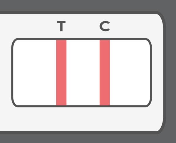 Linie kontrolne testu diagnostycznego