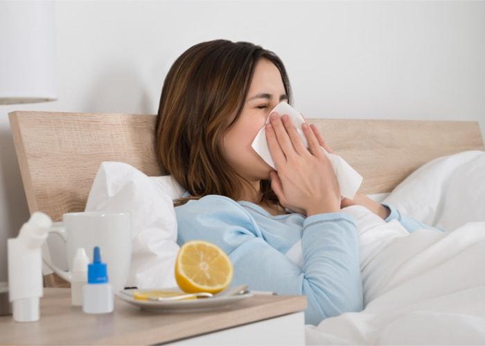 poziom CRP przeziębienie grypa