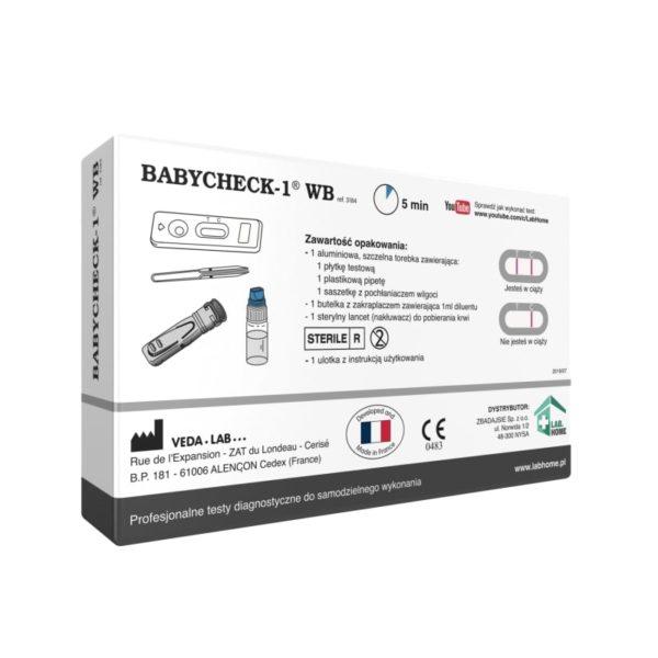 test ciążowy z krwi BABYCHECK-1 WB®
