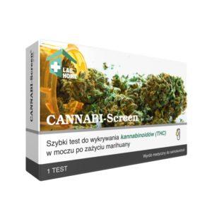 test na marihuanę THC